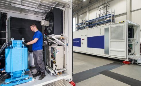 Smart Senja får Norges største batteri